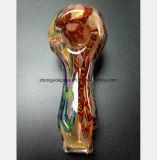 Pipe en verre de couleur de réutilisation de tube de verre de 4.33 pouces