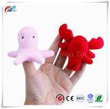 Doigt d'animaux de l'océan marionnettes jouet éducatif Bébé doux main Animal marin doigt marionnettes des jouets en peluche pour les enfants Story Time 10 PC
