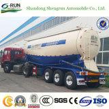 Aanhangwagen van de Tankwagen van het Poeder van het Cement van het Nut van Shengrun de Droge Bulk