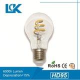 Alto CRI Ra95/90/80 nueva espiral de la luz de incandescencia bombilla LED