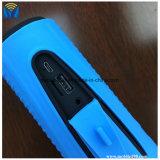 Support léger bas du pouvoir Bank+LED +Bike de haut-parleurs de subwoofer portatif extérieur de bicyclette de haut-parleur de Bluetooth