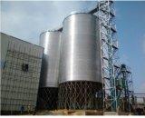 Kleine und große Kapazitäts-Zufuhrbehälter und flache Unterseiten-galvanisierter Stahlsilo-Hersteller