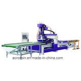 1325b-12精密球木工業のためのドリルバンクとの中心CNC Rotuerを処理するねじによって運転される機械行為