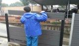 Загородка сада WPC материальная деревянная Plasticcomposite