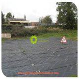 Polietileno preto e branco/ PE tapetes estrada temporária para as zonas húmidas
