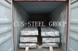 Techo de metal corrugado/placa de acero galvanizado de hoja de techado