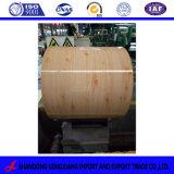 El patrón de grano de madera (GI, GL) bobinas de acero, el patrón PPGL