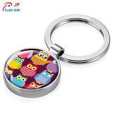 Kundenspezifische Karikatur-Zink-Legierung Keychain für Verkauf