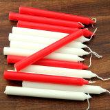 Bougie multicolore de bâton avec la qualité faite par le solide de paraffine