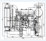 세륨 ISO 승인되는 빠른 납품 QC380d 디젤 엔진
