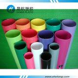 Tubos ligeros coloreados del acrílico del plexiglás de la prueba