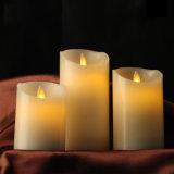 شمعة رخيصة زخرفيّة متحرّكة عديم لهب جهاز تحكّم عن بعد [لد] شمعة