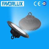 100W 125lm/W CRI>80 PF>0.95のUFO LEDの高い湾