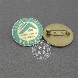 Logotipo impresso personalizado com emblema de Epoxy-Dripping (GZHY-YS-035)
