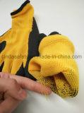 """С покрытием из латекса """"мятым"""" эффектом строительство перчатки"""