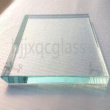 Super grand 10mm de sécurité en verre transparent trempé