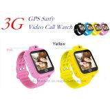 3G/WiFi rastreador GPS Assistir para criança/filhos com câmara de rotação D18S