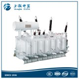 220kv triphasé sur le transformateur d'alimentation de tension de chargement