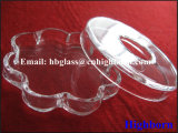 Tino triangolare libero del petalo di vetro di quarzo di alta qualità