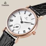 De hoogwaardige Horloges van het Paar van het Roestvrij staal, Horloge 70030 van de Minnaar van het Kwarts