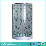 Receptáculo de ducha de cristal de alta calidad con ruedas deslizantes (LTS-825B)