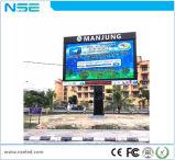 Visualizzazione di LED fissa esterna dell'installazione P4 per pallacanestro/schermo dello stadio
