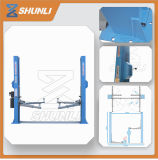 Shunli Factory Sales 4t Manual Release Two Post Car Lifts