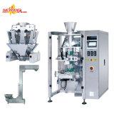 A linha de produção de máquinas de embalagem automática para um snack