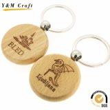 Оптовое кольцо круглой формы деревянное ключевое (Y04990)