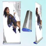Rodillo de la publicidad de la pantalla stand Portable Display Banner tire hacia arriba