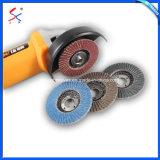 Высокое качество абразивные материалы с покрытием из нержавеющей стали шлифовальный диск заслонки для матирования
