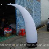 Défense gonflable personnalisée de décorations extérieures de modèle de forme pour l'exposition