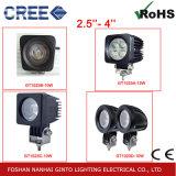 luz del trabajo del automóvil LED de 10W 2.5inch los 6.3cm para la motocicleta, coche, carretilla elevadora