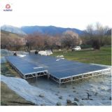 TUV 증명서 1.2mx1.2m 알루미늄 옥외 연주회 단계 판매 또는 이동할 수 있는 단계
