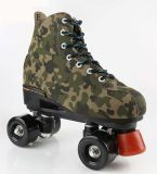 カムフラージュデザイン4-Wheelローラースケートの靴