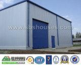 Modulo prefabbricato - magazzino stabilizzato economico della costruzione della struttura d'acciaio