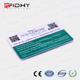읽힌 Qr 부호를서만 가진 Em4200 Contactless RFID 회원증