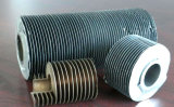 Tube d'ailette composé double en métal d'en cuivre et en aluminium pour l'échangeur de chaleur
