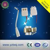 Bride de lampe de boîtier de tube de T5 T8 DEL
