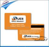 3 vias Re-Write tarjas magnéticas de cartão inteligente