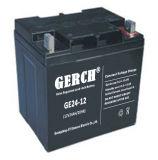 12V 24Ah batería de plomo ácido libre de mantenimiento de UPS Solarj fabricante de la batería del panel de la batería de emergencia EPS de telecomunicaciones, energía eólica