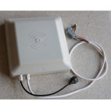 840-960MHz leitor interurbano do leitor Integrated RFID da freqüência ultraelevada da antena RFID da freqüência 12dBi
