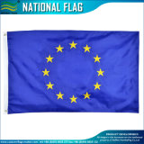 Pays de l'UE Drapeau national durable par l'écran de l'impression