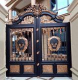 Antiguos de hierro forjado personalizadas puerta valla de acero