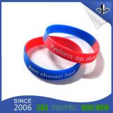 Bracelet bon marché coloré fait sur commande en gros de bracelet de silicones
