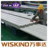 Tetto d'acciaio ondulato delle mattonelle di tetto di montaggio di metallo