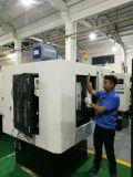 Doppia macchina per la frantumazione della valvola di motore della stazione di CNC per la testa