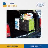 Пластичная складывая вагонетка покупкы завальцовки с крышками