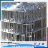 Rullo saldato 5X5 ricoperto o galvanizzato del PVC della rete metallica