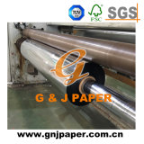 Прозрачный серебряным покрытием из алюминиевой фольги ламинированной бумаги для упаковки